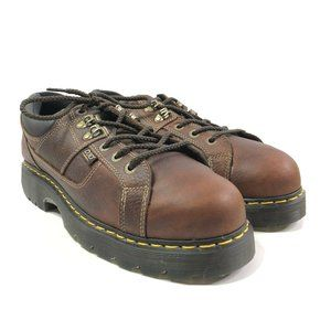 Dr Martens Mens Gunby IM Leather Steel Toe Boots